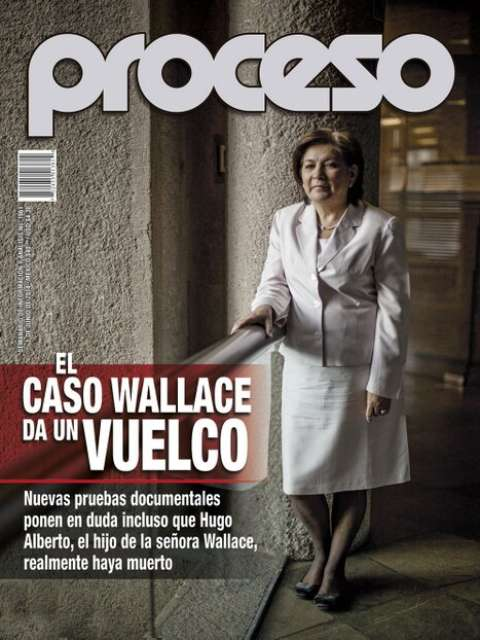 Magazine Proceso number 1961, where the topic was revived.  Photo : Magazine Proceso